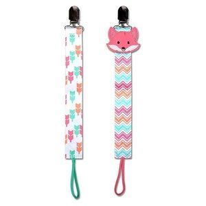 Pacifier clips! Set of 2, never used.